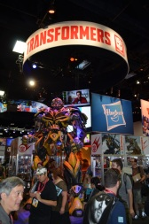 Comic-Con 2014 Transformers Hasbro Booth