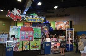 Comic-Con 2014 Upper Deck Hello Kitty Booth