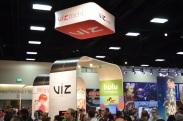 Comic-Con 2014 Viz Media Booth