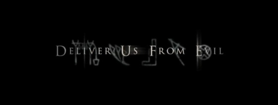 Deliver Us From Evil Logo Movie Title
