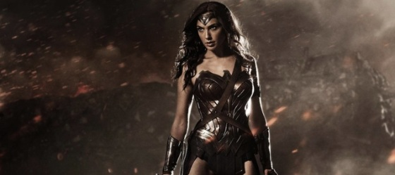 Gal Gadot in Full Wonder Woman Costume for 'Batman v Superman Dawn of Justice'