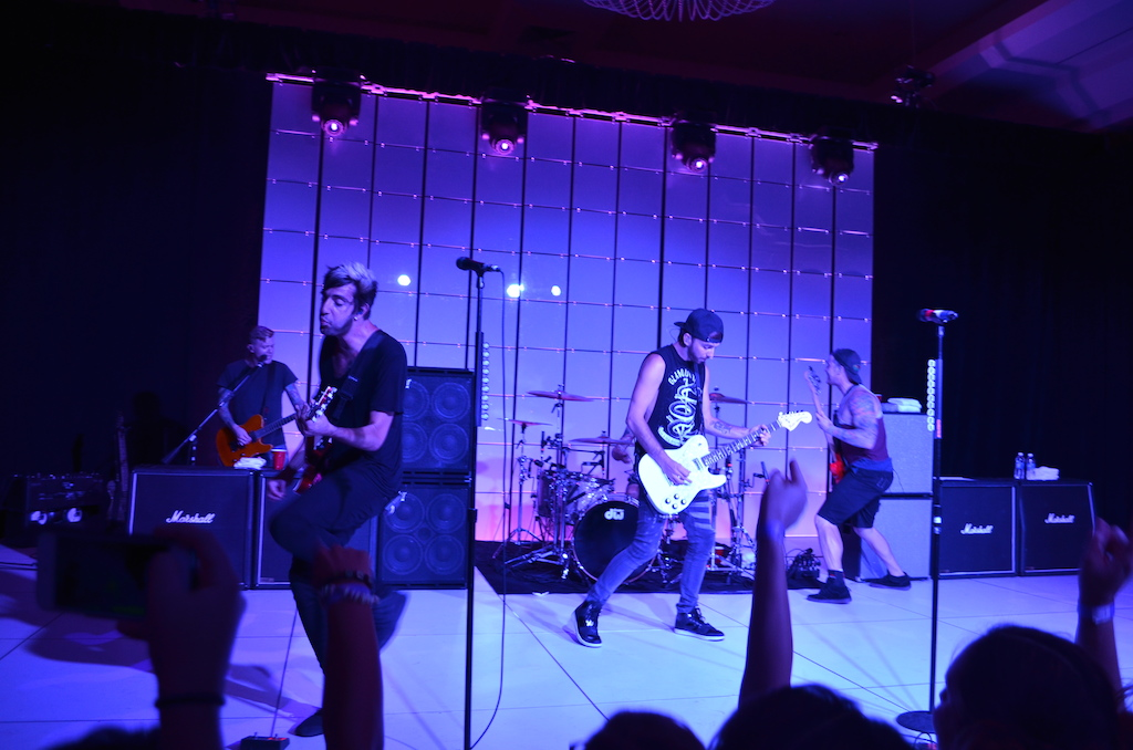 Her Universe Fashion Show All Time Low After Party Concert 9
