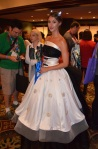 Her Universe Fashion Show Leetal Platt Dalek Wedding Dress Doctor Who