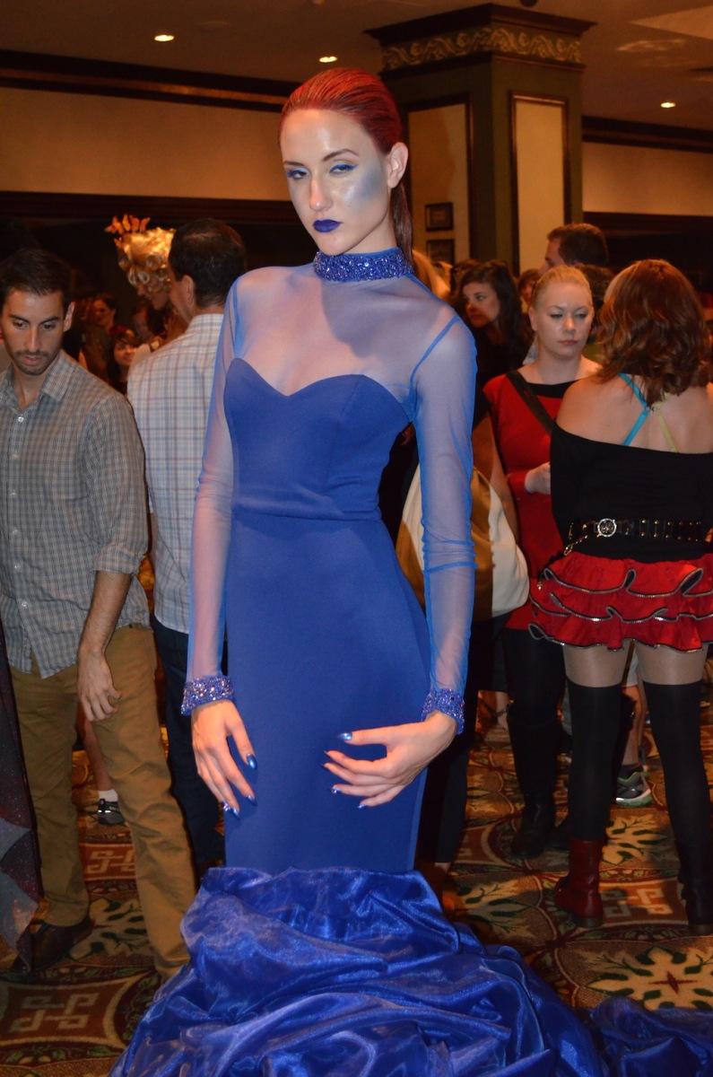 Her Universe Fashion Show Oseas Villatoro Mystique X-Men 2