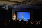 Her Universe Fashion Show SDCC 2014 Ashley Eckstein Totoro Dress