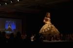 Her Universe Fashion Show SDCC 2014 Cressie Lewis The Hobbit Wedding Dress 2