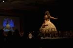 Her Universe Fashion Show SDCC 2014 Cressie Lewis The Hobbit Wedding Dress 3