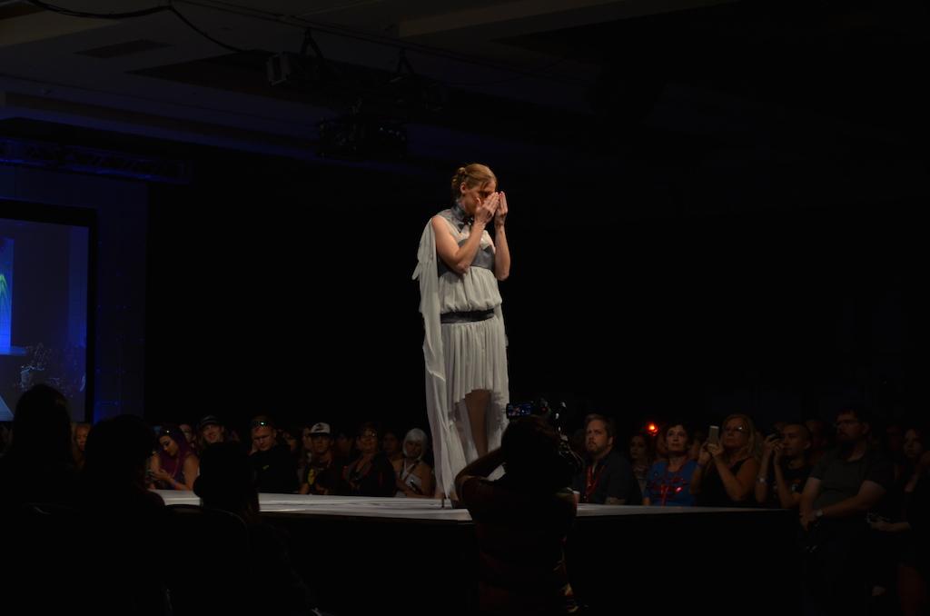 Her Universe Fashion Show SDCC 2014 Hannah Liz Hernandez Doctor Who
