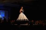 Her Universe Fashion Show SDCC 2014 Leetal Platt Dalek Wedding Dress Doctor Who