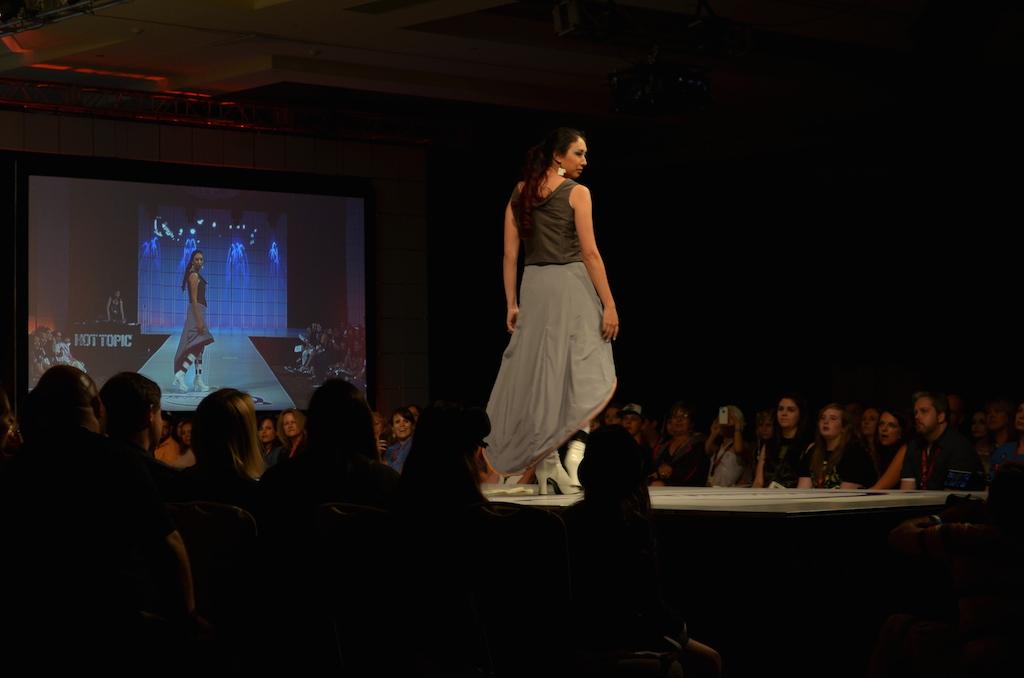Her Universe Fashion Show SDCC 2014 Sadee Umrapal Portal Dress 2