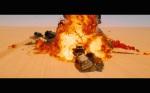 Mad Max Fury Road Comic Con Trailer Screenshot Explosion 2