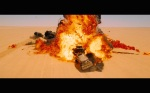 Mad Max Fury Road Comic Con Trailer Screenshot Explosion 2