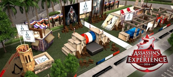 SDCC Assassin's Creed Experience Obstacle Course
