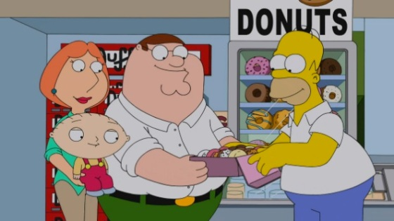The Simpsons and Family Guy Crossover 5-Minute Preview
