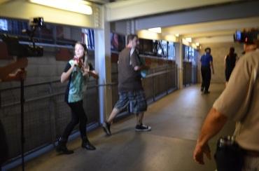 The Walking Dead Escape Comic-Con 2014 Petco Park 13