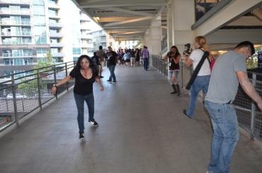 The Walking Dead Escape Comic-Con 2014 Petco Park 16