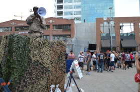 The Walking Dead Escape Comic-Con 2014 Petco Park 4