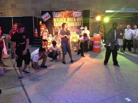 The Walking Dead Escape Comic-Con 2014 Petco Park 62