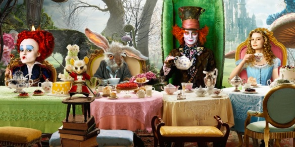 Alice In Wonderland Through The Looking Glass Cast And Story Details Announced Turn The Right Corner