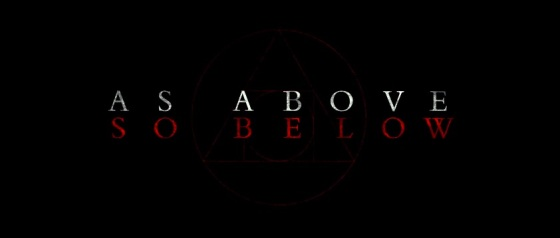 As Above So Below Title Movie Logo