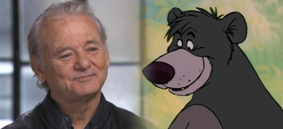 Bill Murray to Voice Baloo in The Jungle Book
