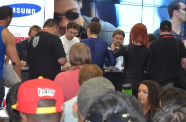 Comic-Con 2014 Aaron Taylor-Johnson