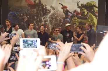 Comic-Con 2014 Avengers Age of Ultron Cast