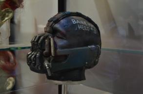 Comic Con 2014 Batman 75th Anniversary Exhibit Bane Mask 2