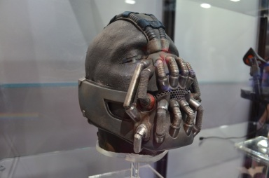 Comic Con 2014 Batman 75th Anniversary Exhibit Bane Mask