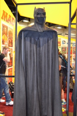 Comic Con 2014 Batman 75th Anniversary Exhibit Ben Affleck