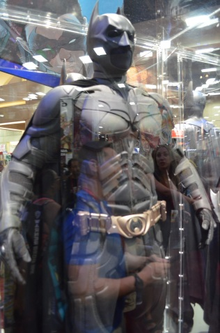 Comic Con 2014 Batman 75th Anniversary Exhibit Christian Bale