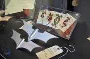 Comic Con 2014 Batman 75th Anniversary Exhibit Joker Cards
