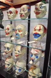 Comic Con 2014 Batman 75th Anniversary Exhibit Joker Good Masks