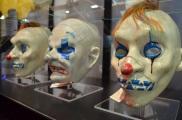 Comic Con 2014 Batman 75th Anniversary Exhibit Joker Goon Masks 2