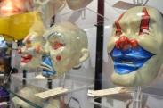Comic Con 2014 Batman 75th Anniversary Exhibit Joker Goon Masks 4