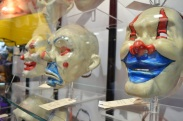 Comic Con 2014 Batman 75th Anniversary Exhibit Joker Goon Masks 4