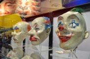 Comic Con 2014 Batman 75th Anniversary Exhibit Joker Goon Masks 5
