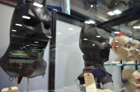 Comic Con 2014 Batman 75th Anniversary Exhibit Masks 3