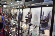 Comic Con 2014 Batman 75th Anniversary Exhibit Masks