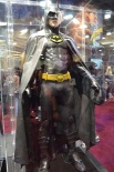 Comic Con 2014 Batman 75th Anniversary Exhibit Michael Keaton