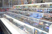 Comic Con 2014 Batman 75th Anniversary Exhibit Toys