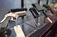 Comic Con 2014 Batman 75th Anniversary Exhibit Weapons