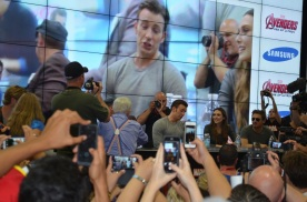 Comic-Con 2014 Elizabeth Olsen