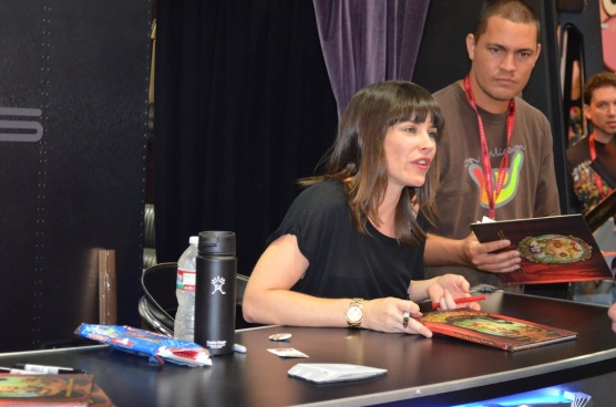 Comic-Con 2014 Evangeline Lilly