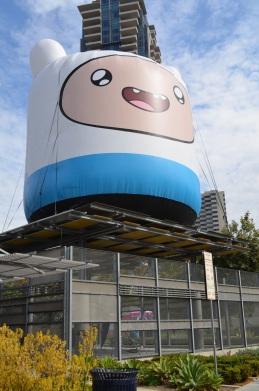 Comic-Con 2014 Finn Adventure Time