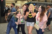 Comic-Con 2014 Frag Dolls Funny