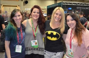 Comic-Con 2014 Frag Dolls