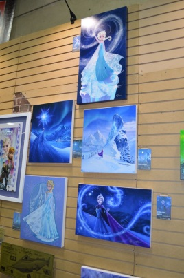 Comic-Con 2014 Frozen Art