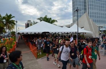 Comic-Con 2014 Hall H Line