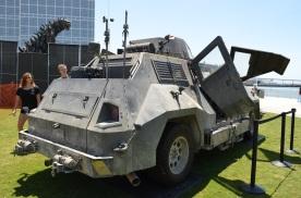 Comic-Con 2014 Into the Storm Truck 3